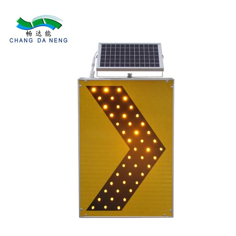 Aluminum solar traffic signal LED illuminated traffic stop/speed limit/directional sign